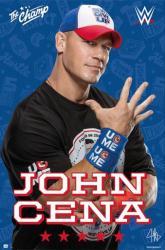 WWE John Cena poster (24x36) wrestling