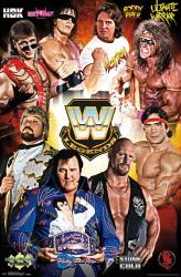 WWE Legends poster (22x34) Roddy Piper, Ultimate Warrior, HBK, etc.