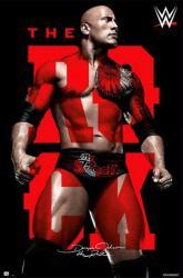 WWE The Rock poster (24x36) Dwayne Johnson