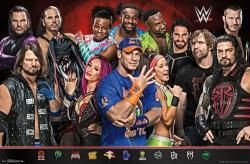 WWE Superstars poster (34x22) John Cena & Group 2017
