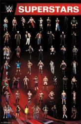 WWE Superstars poster (22x34) World Wrestling Entertainment