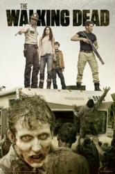 The Walking Dead poster: Attack [AMC TV Series] 24'' X 36''