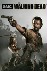 The Walking Dead poster: Rick & Michonne (24 X 36) AMC series