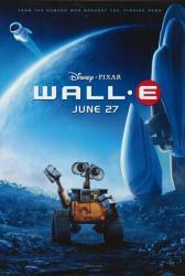 Wall-E movie poster [Disney/Pixar] original one-sheet