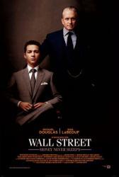Wall Street: Money Never Sleeps poster [Michael Douglas/Shia LaBeouf]