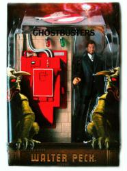 Ghostbusters: 6'' Walter Peck figure & Containment Unit (Mattel/2009)