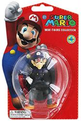 Super Mario Mini Figure Collection: Waluigi figure (Goldie/2012)