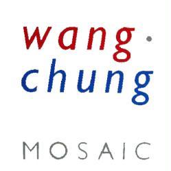 Wang Chung poster: Mosaic vintage LP/Album flat