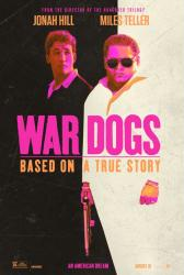 War Dogs movie poster [Jonah Hill, Miles Teller] 27x40 advance