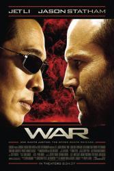 War movie poster [Jet Li & Jason Statham]