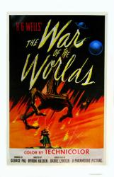 The War of the Worlds movie poster [1953] 22'' X 34'' reproduction