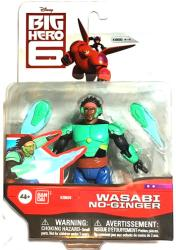 Big Hero 6: Wasabi No Ginger action figure (Bandai/2015) Disney