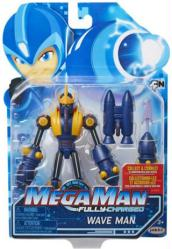 Mega Man Fully-Charged: Wave Man action figure (Jakks Pacific)
