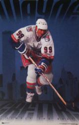 Wayne Gretzky poster: New York Rangers (23x35) Simply the Best 1998