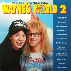 Wayne's World 2 soundtrack poster: Vintage LP/Album flat (1993)