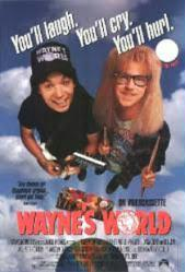 Wayne's World movie poster [Mike Myers, Dana Carvey] 27x40