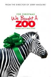 We Bought A Zoo movie poster [2011 Advance] a Cameron Crowe film/GD