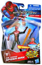 The Amazing Spider-Man: Web Cannon Spider-Man figure (Hasbro/2012)