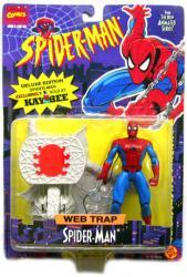 Spider-Man: Web Trap Spider-Man Deluxe Edition figure (ToyBiz/1995)