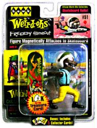 Weird-Ohs: Freddy Flameout collectible figure (Hawk/2008)