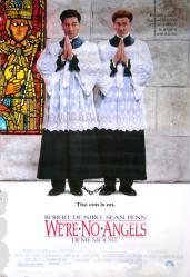 We're No Angels movie poster [Robert De Niro, Sean Penn] 27x40