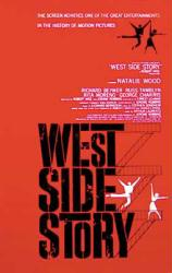 West Side Story movie poster (1961) 26'' X 40''
