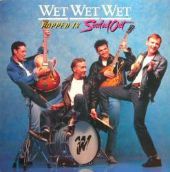 Wet Wet Wet poster: Popped In Souled Out vintage LP/Album flat (1987)