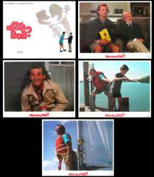 What About Bob? lobby card set of five 14x11 cards [Bill Murray]