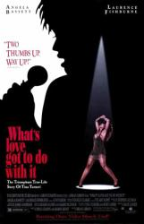 What's Love Got to Do With It movie poster [Angela Bassett] video