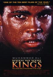 When We Were Kings movie poster [Muhammad Ali] video/VG