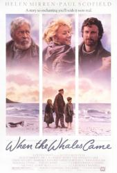 When the Whales Came movie poster [Helen Mirren, Paul Scofield] 27x41
