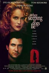 Where Sleeping Dogs Lie movie poster [Dylan McDermott, Sharon Stone]