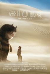 Where the Wild Things Are movie poster [a Spike Jonze film] 27 X 40