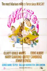 Whiffs movie poster [Elliott Gould, Eddie Albert] 27x41 original