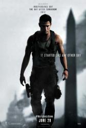 White House Down movie poster [Channing Tatum] original advance