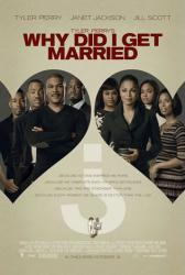 Why Did I Get Married? movie poster [Tyler Perry & Janet Jackson]
