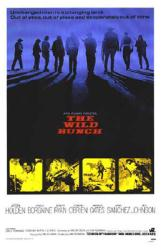 The Wild Bunch movie poster [a Sam Peckinpah film] 27'' X 41''