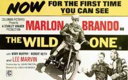 The Wild One movie poster [Marlon Brando, Lee Marvin] 39.5'' X 27.5''
