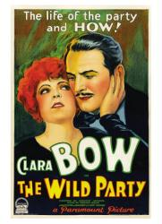 The Wild Party movie poster [Clara Bow & Fredric March] 18 X 24