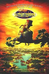 The Wild Thornberrys Movie movie poster (2002) Nickelodeon advance