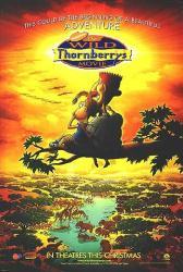 The Wild Thornberrys Movie movie poster (2002) Nickelodeon advance