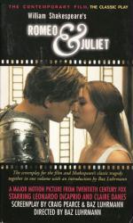 William Shakespeare's Romeo & Juliet paperback book/1996 Movie Tie-In
