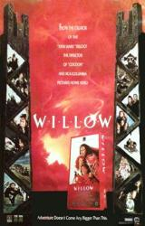 Willow movie poster [Val Kilmer, Warwick Davis] 27x40 video version