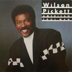 Wilson Pickett poster: American Soul Man vintage LP/Album flat (1987)