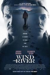 Wind River movie poster [Jeremy Renner, Elizabeth Olsen] 27x40