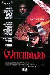 Witchboard movie poster [Ouija board horror film] 27x40 video 1986