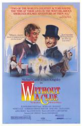 Without A Clue movie poster [Michael Caine, Ben Kingsley] 27x41
