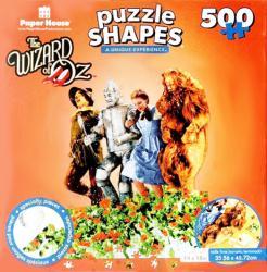 The Wizard of Oz 500-piece Shaped jigsaw puzzle (Poppy Field)