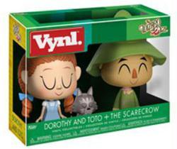 The Wizard of Oz: Dorothy & Toto + Scarecrow Vynl figures set (Funko)
