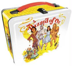 The Wizard of Oz collectible Lunch Box Tin Tote (Aquarius)